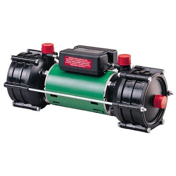 Salamander RHP75 2.25 bar twin shower pump
