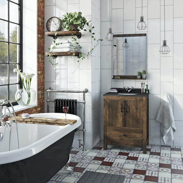 The Bath Co. Dalston mirror 600 x 750mm