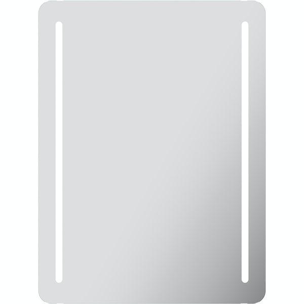Mode Hawksmoor LED illuminated mirror 800 x 600mm with IR sensor & demister