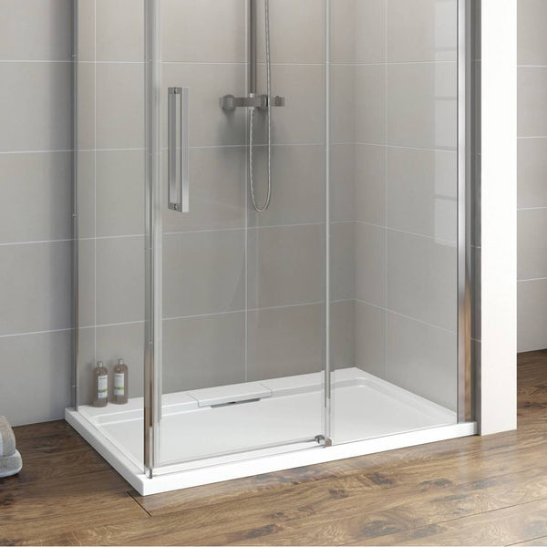 Designer Rectangular Stone Shower Tray