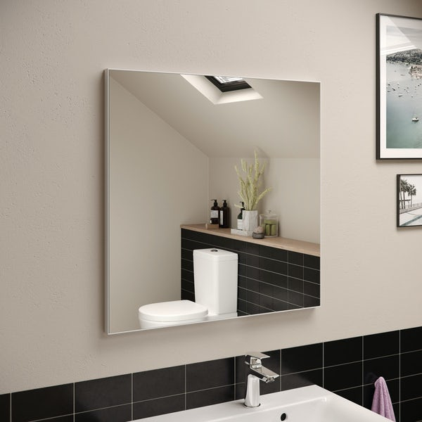 Ideal Standard framed mirror 700 x 700mm