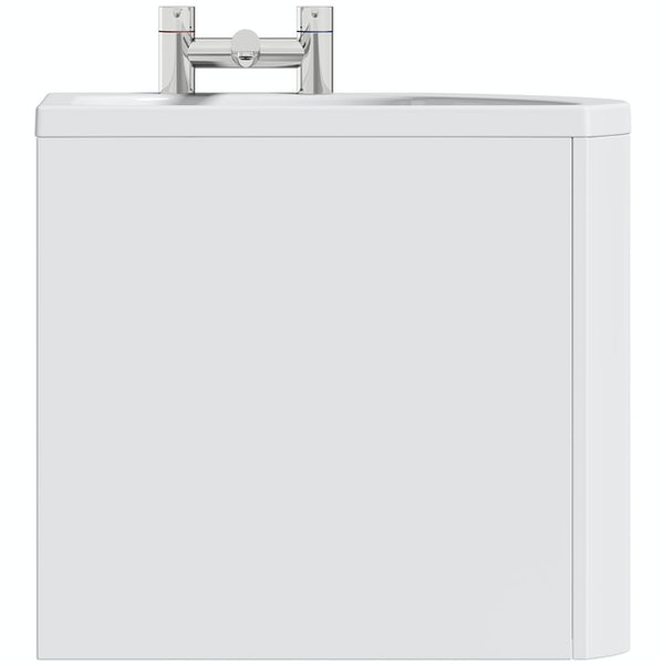 Orchard spacesaver single ended right handed bath 1690 x 690