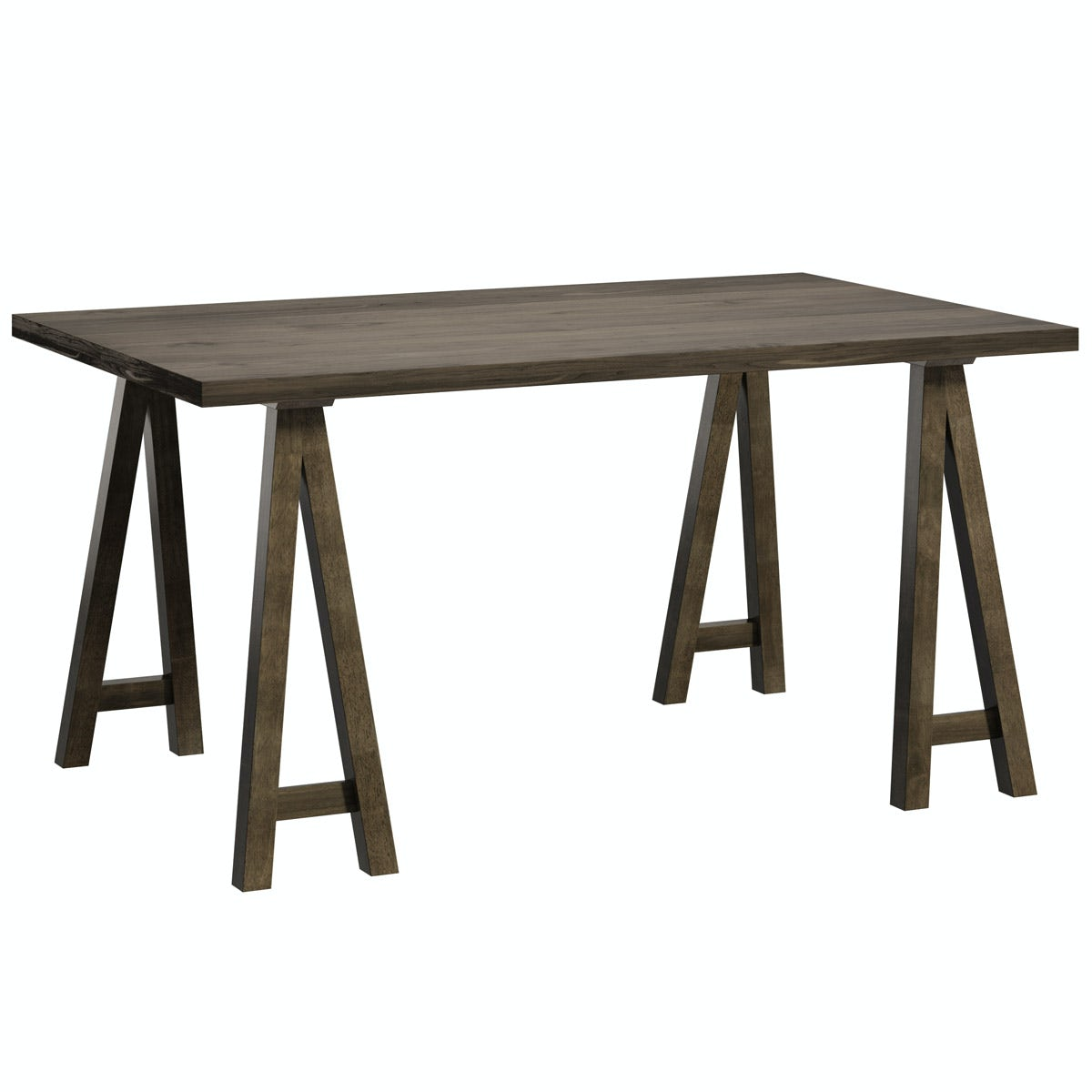 Hudson Walnut Trestle Table
