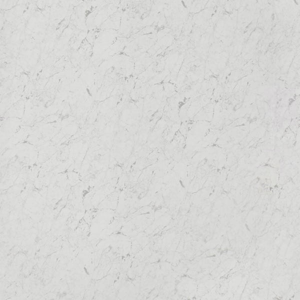 Orchard White Marble shower wall panel 2400 x 1000