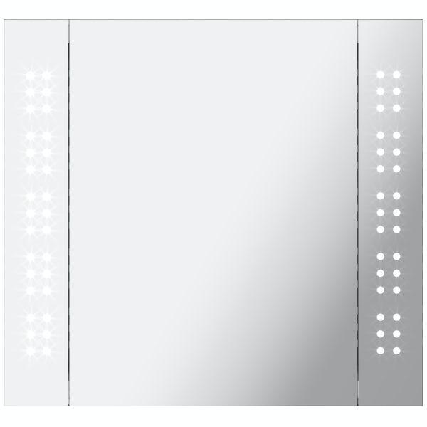 Mode Fuller LED Mirror cabinet 650x600