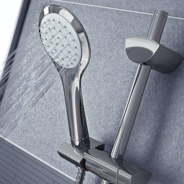 Bristan Sonique 2 sequential thermostatic shower valve with slider rail kit