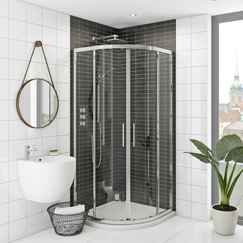 Mode Hardy premium 8mm easy clean quadrant shower enclosure