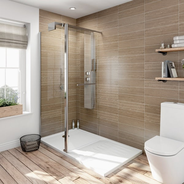 V6 Designer Shower System 1600 x 800 inc Tray