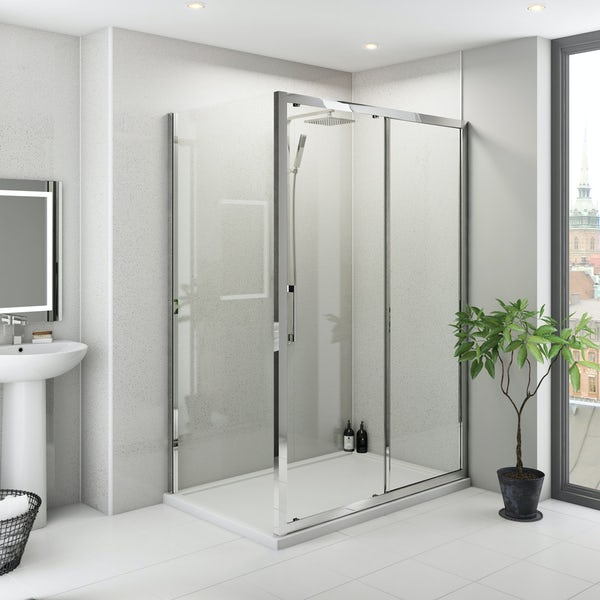 Multipanel Classic Blizzard Hydrolock shower wall panel 598