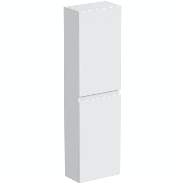 Mode Hardy white side wall storage