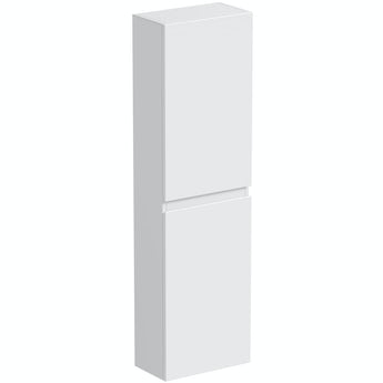 Mode Hardy white wall hung cabinet 1400 x 330mm