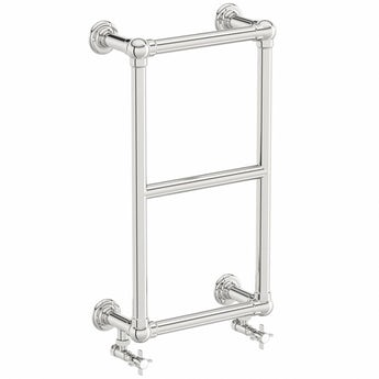 The Heating Co. Winchester chrome wall mounted heated towel rail 700 x 400