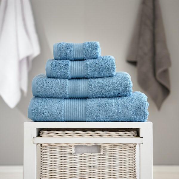 Deyongs Bliss antibacterial 650gsm 6 piece towel bale cobalt