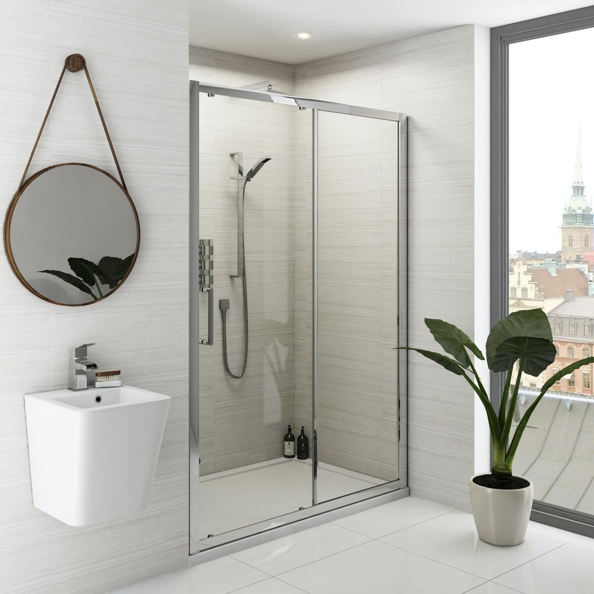 Mode Ellis premium 8mm easy clean sliding shower door