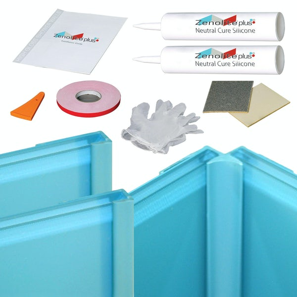 Zenolite water corner installation kit