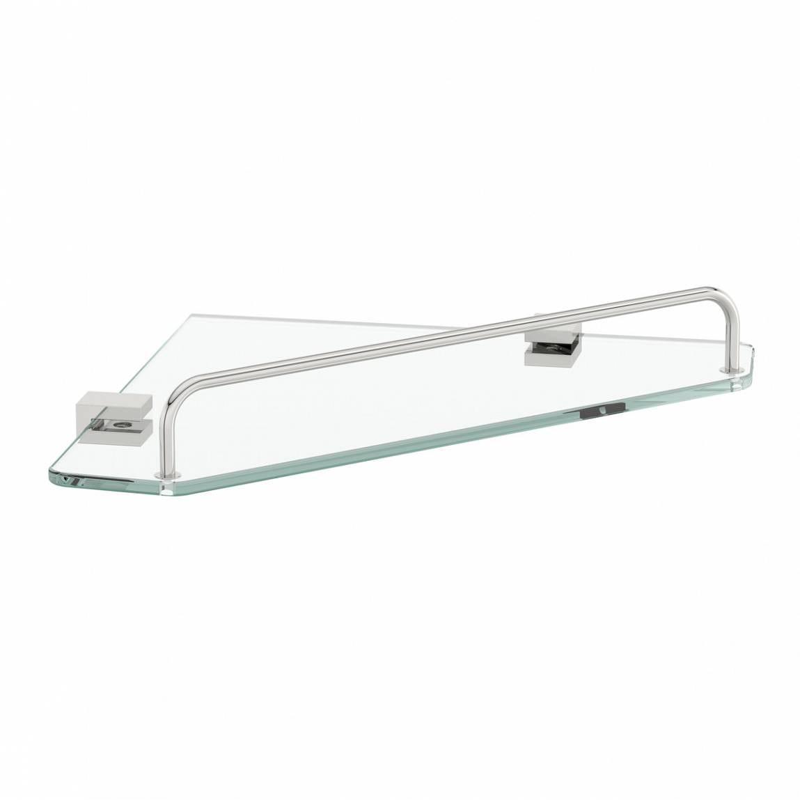 Accents Options squared corner glass shelf
