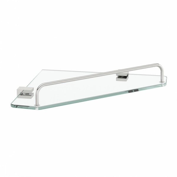 Options Squared Corner Glass Shelf