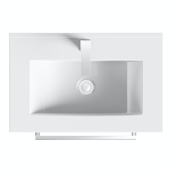 Derwent vanity drawer unit and basin 600mm