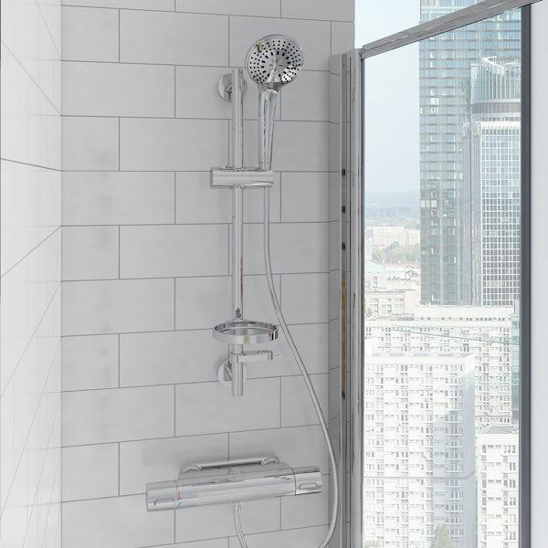 Ideal Standard Concept Space elm complete right hand shower bath suite 1700 x 700