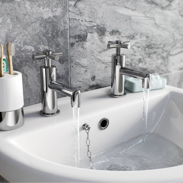 Tate Basin Tap and Bath Shower Mixer Pack