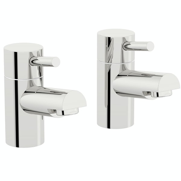 Orchard Wharfe basin pillar taps