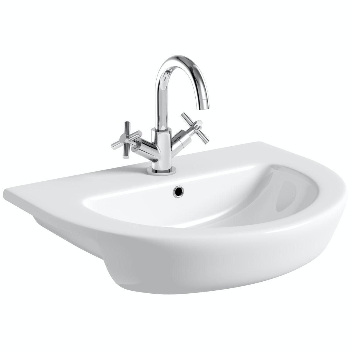 Mode Tate semi recessed basin