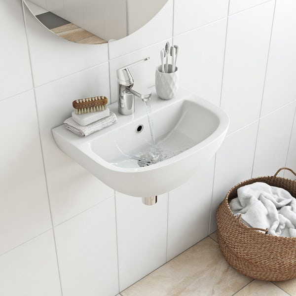 Grohe complete cloakroom suite with taps and waste