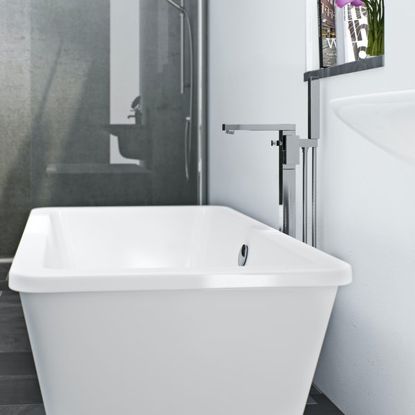 Mode Ellis freestanding bath filler tap