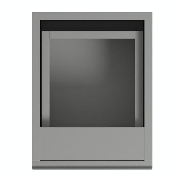 Orchard Wharfe slate grey storage unit 668 x 250mm