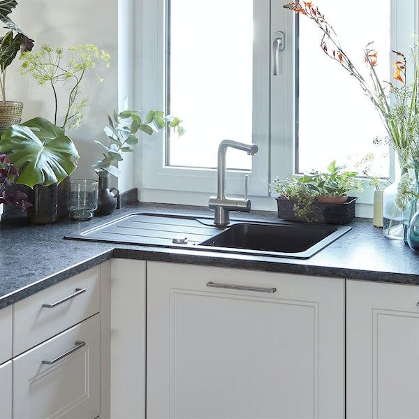 Rangemaster Schock Formhaus 1.0 bowl granite reversible kitchen sink