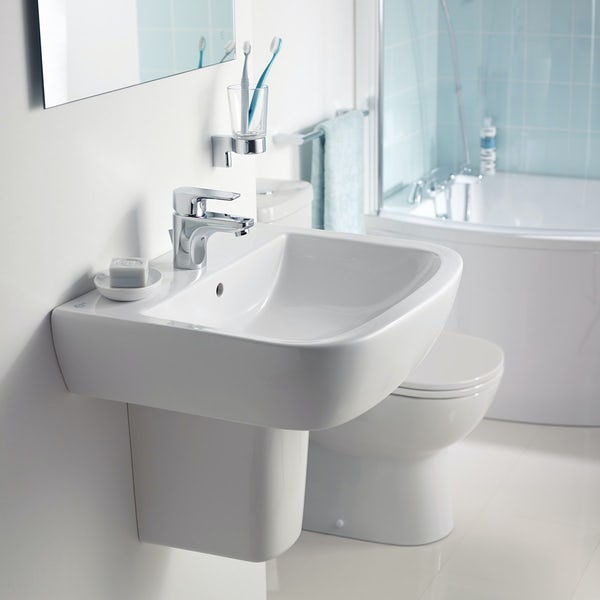 Ideal Standard Tempo basin mixer tap with pop-up waste