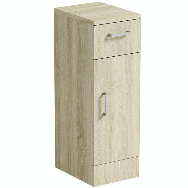 Orchard Eden oak storage unit 330mm
