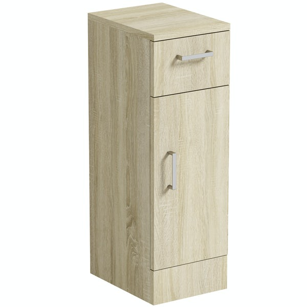 Orchard Eden oak storage unit 330mm