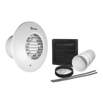Xpelair simply silent timer bathroom round extractor fan