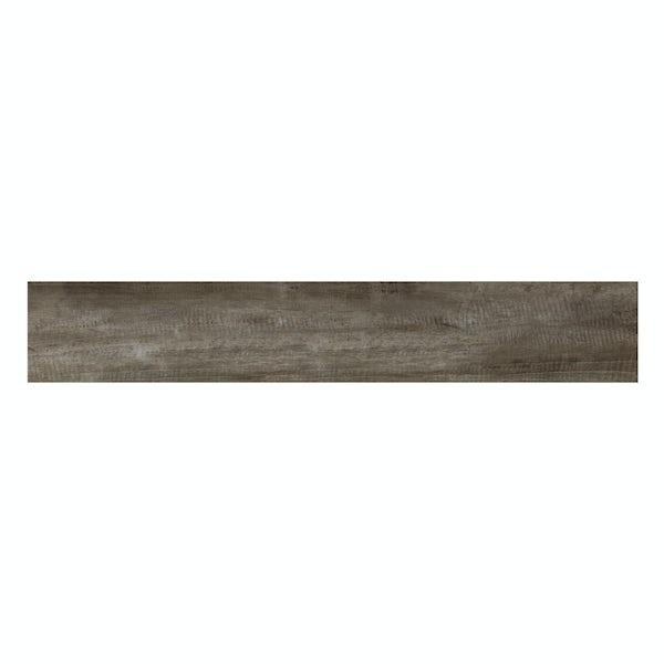 Hawthorne maple wood effect matt wall and floor tile 165mm x 1000mm