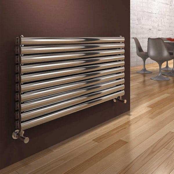 Reina Artena double polished stainless steel designer radiator