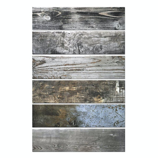 Sea breeze wood tile 150mm x 600mm