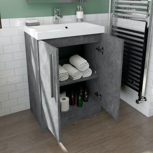 Orchard Wye complete quadrant shower enclosure suite