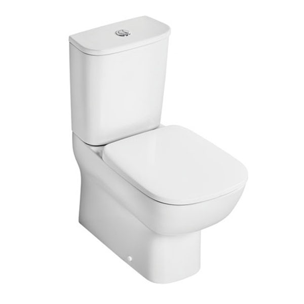 Ideal Standard Studio Echo close coupled toilet with soft close seat