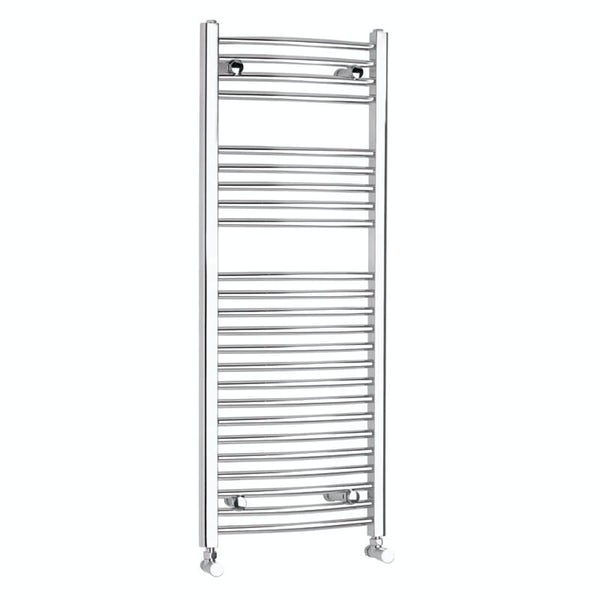 Curved Heated Towel Rail 1150 x 450