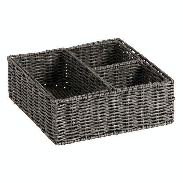 Showerdrape Matteo set of 4 storage baskets