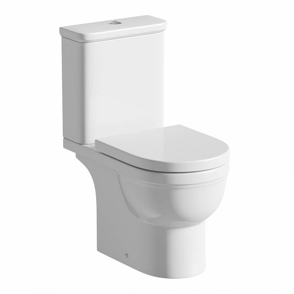 Deco Close Coupled Toilet Inc Soft Close  Seat