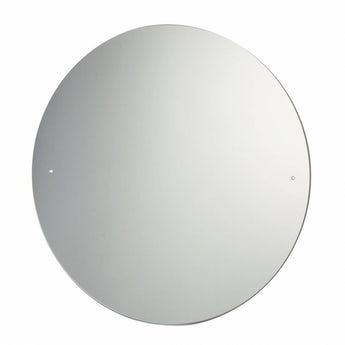 Orchard round bevelled edge drilled bathroom mirror 600 x 600mm