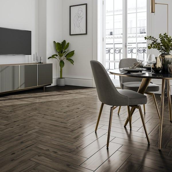 Rowen oak wood effect matt wall and floor tile 150mm x 600mm