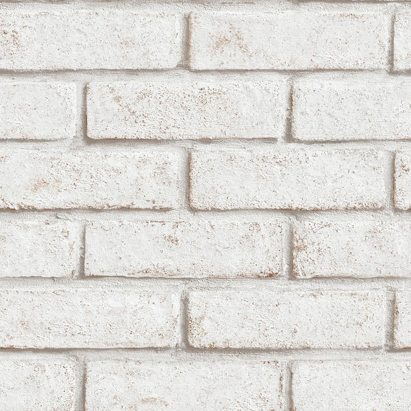 Graham & Brown Superfresco easy white brick wallpaper