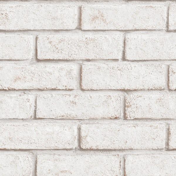Superfresco Easy White Brick Wallpaper