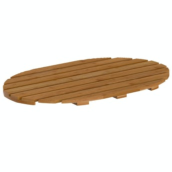 Accents Bamboo round slatted duck board