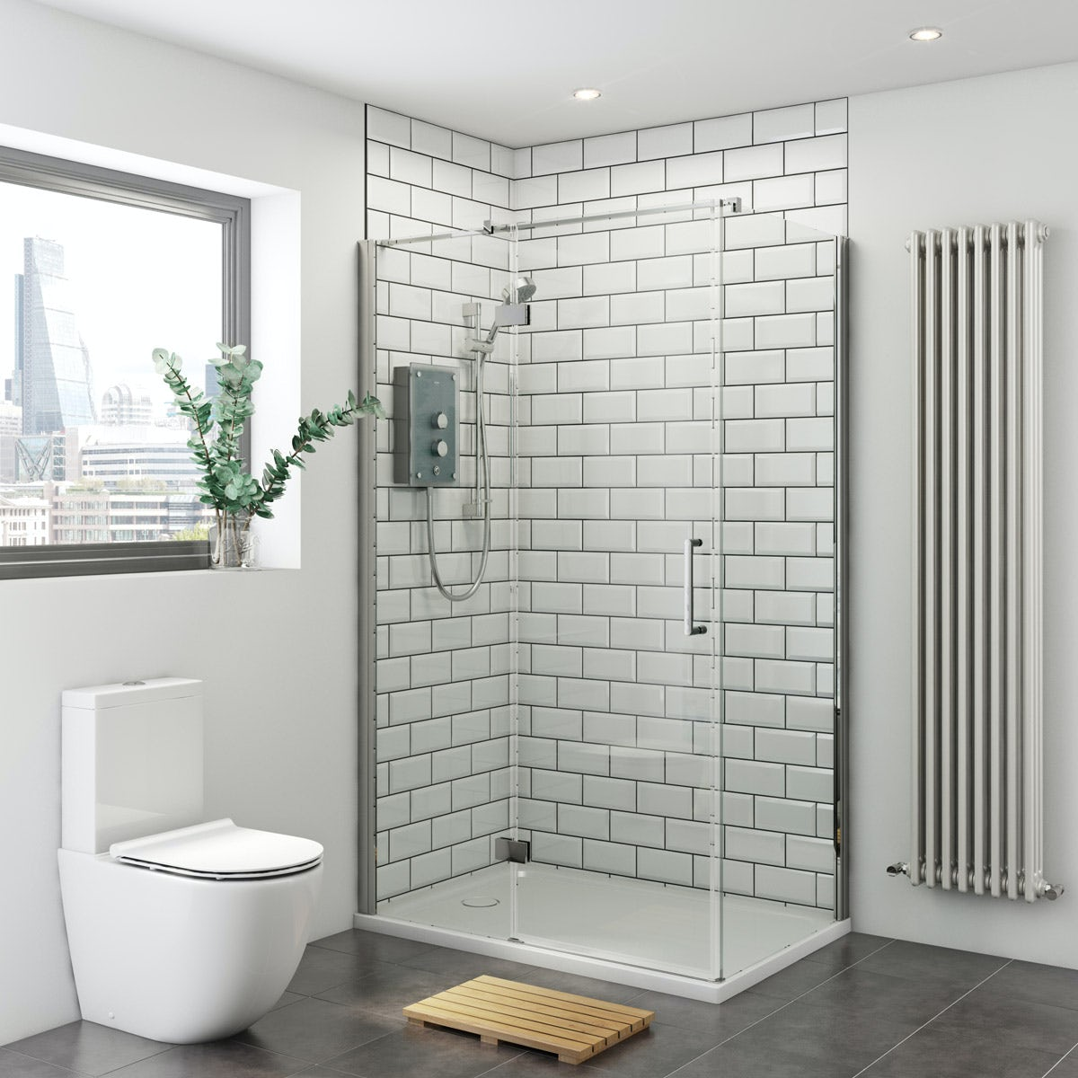Mira And Mode Shower Enclosure And Tray Bundle With Mira