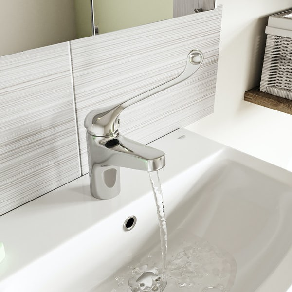 Kirke WRAS thermostatic basin mixer tap