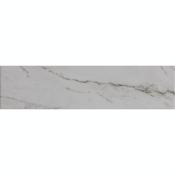 Ibera marble stone effect matt wall tile 100mm x 400mm